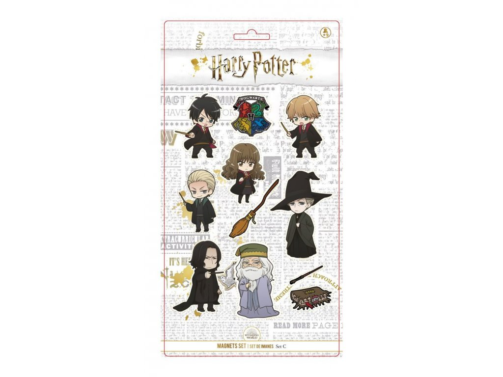 Harry Potter Magnet Set C SD Toys