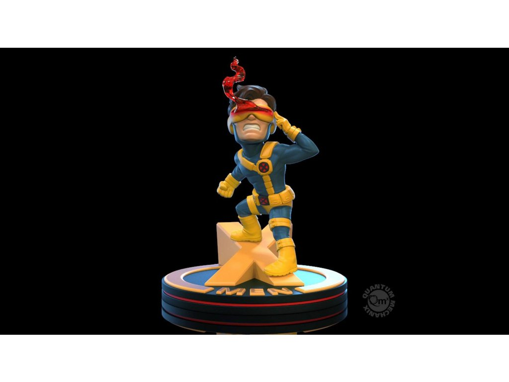 Marvel Q-Fig Diorama Cyclops (X-Men) 10 cm Quantum Mechanix