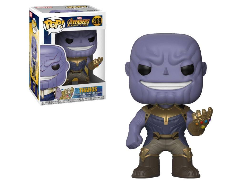Avengers Infinity War POP! Movies Vinyl Figure Thanos 9 cm Funko