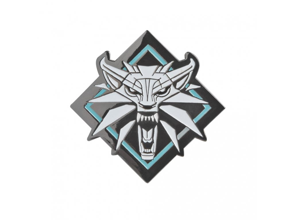 Zaklínač - The Witcher 3 Odznak White Wolf JINX