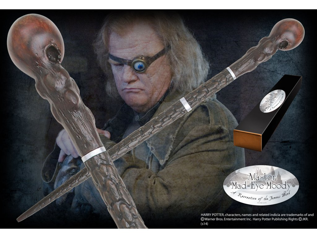 Harry Potter - Hůlka Alastor Moody Noble Collection