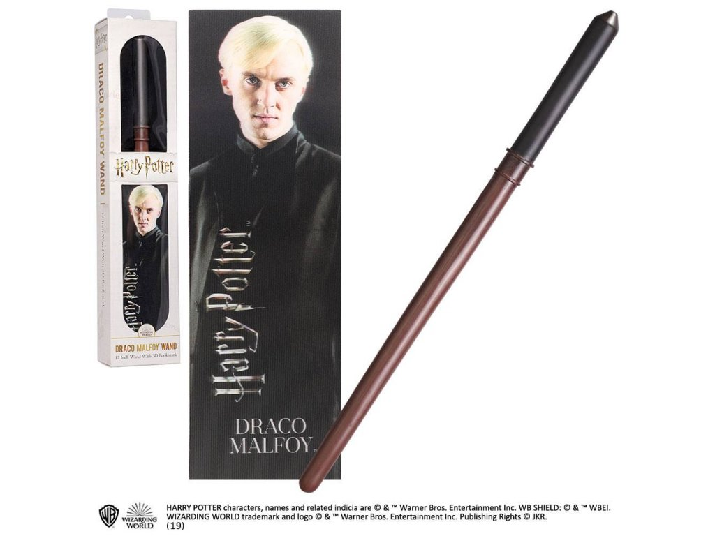 Harry Potter PVC Wand Replica Draco Malfoy 30 cm Noble Collection
