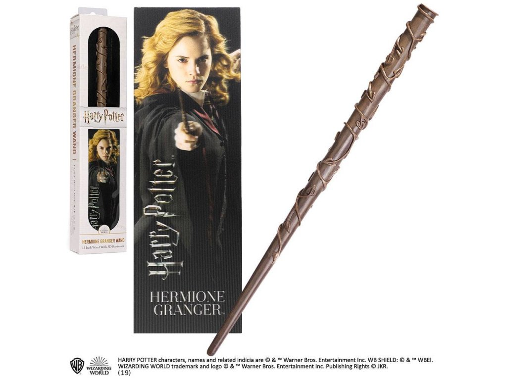 Harry Potter PVC Wand Replica Hermione Granger 30 cm Noble Collection