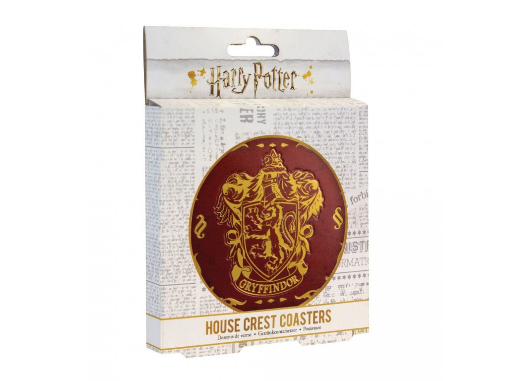 Harry Potter Coaster 4-Pack Houses Crests Paladone Products