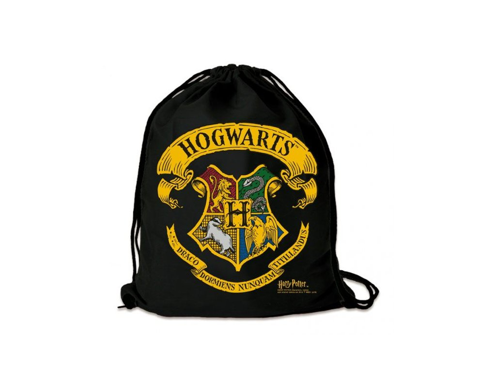 Harry Potter Gym Bag Hogwarts Logoshirt