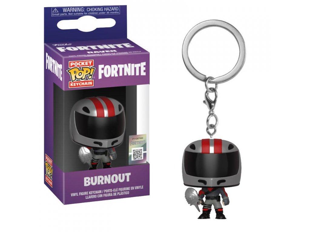 Fortnite Pocket POP! Vinyl Keychain Burnout 4 cm Funko