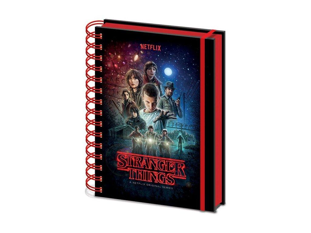Stranger Things Wiro Notebook A5 One Sheet Pyramid International