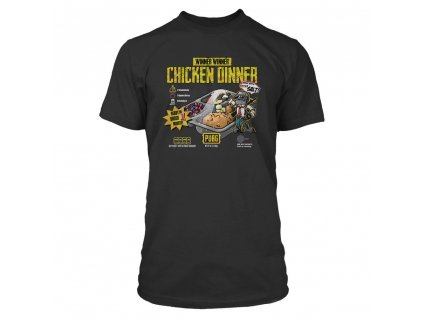 Playerunknown's Battlegrounds (PUBG) Premium T-Shirt Cuisine J!NX