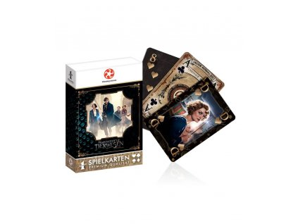 Fantastic Beasts Number 1 Playing Cards Winning Moves
