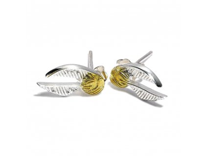 Harry Potter Earrings Golden Snitch (silver plated) Carat Shop, The