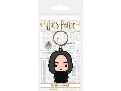 Harry Potter Rubber Keychain Chibi Snape 6 cm Pyramid International