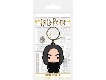Harry Potter Rubber Keychain Chibi Snape 6 cm Pyramid International