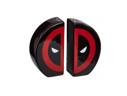 Marvel Comics POP! Home Salt and Pepper Shakers Deadpool Icon Split Funko
