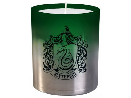 Harry Potter Glass Candle Slytherin 8 x 9 cm Insight Editions