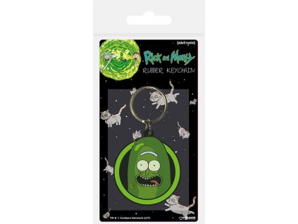 Rick and Morty Rubber Keychain Pickle Rick 6 cm Pyramid International