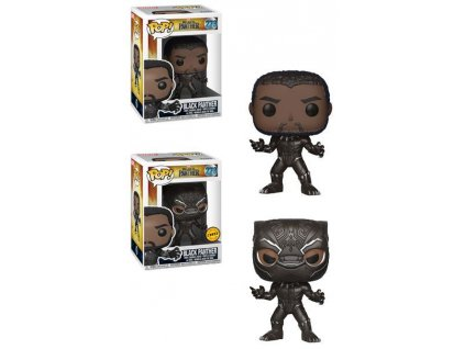 Black Panther Movie POP! Movies Figures Black Panther 9 cm Assortment (6) Funko