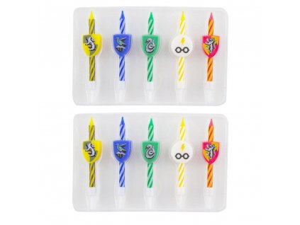 Harry Potter Birthday Candle 10-Pack Logos Cinereplicas