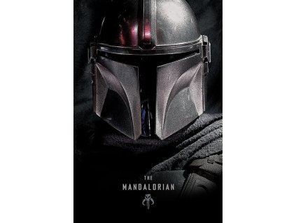 Star Wars The Mandalorian Plakát Tmavý 61 x 91 cm Pyramid International