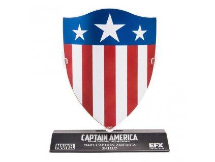 Marvel's Captain America Replica 1/6 Captain America's 1940's Shield LC Excl. 10 cm EFX