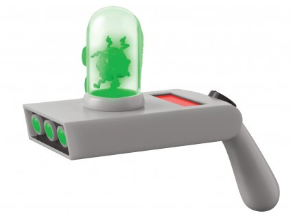 Rick and Morty Vinyl Toy Sound and Light Up Portal Gun Funko