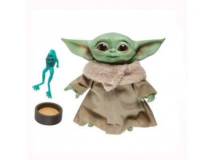 Star Wars The Mandalorian Mluvící Plyšová Hračka Baby Yoda 19 cm Hasbro