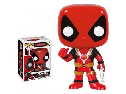 Marvel Comics POP! Vinyl Bobble-Head Deadpool Thumb Up 10 cm Funko