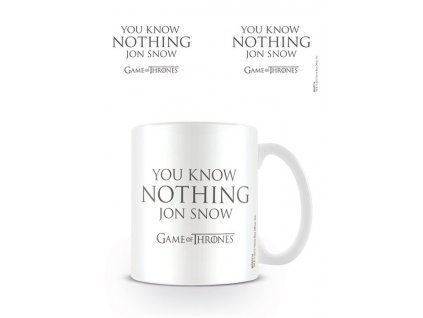 Game of Thrones Mug You Know Nothing Jon Snow Pyramid International
