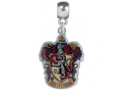 Harry Potter Charm Gryffindor Crest (silver plated) Carat Shop, The