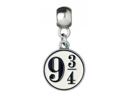 Harry Potter Charm Platform 9 3/4 (silver plated) Carat Shop, The
