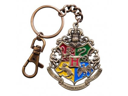 Harry Potter Metal Keychain Hogwarts 5 cm Noble Collection