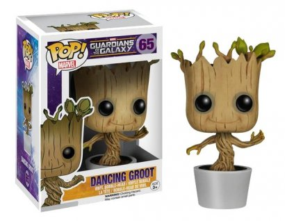 Guardians of the Galaxy POP! Vinyl Bobble-Head Dancing Groot 10 cm Funko
