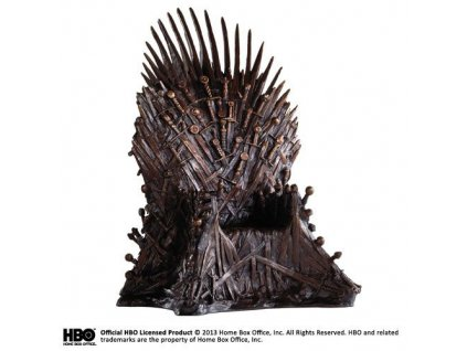 Game of Thrones Statue Bronze Iron Throne 36 cm Noble Collection