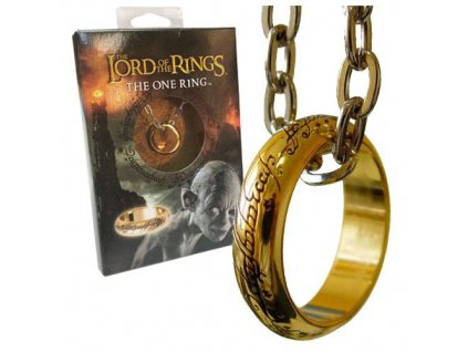 Lord of the Rings Ring The One Ring (gold plated) Noble Collection