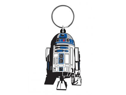 Star Wars Rubber Keychain R2-D2 6 cm Pyramid International