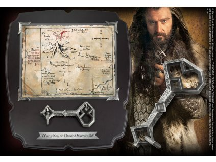 The Hobbit Replica 1/1 Thorin´s Oakenshield´s Map & Key Deluxe Noble Collection
