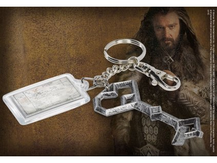 The Hobbit Metal Keychain Thorin´s Key Noble Collection