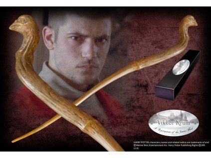 Harry Potter Wand Viktor Krum (Character-Edition) Noble Collection