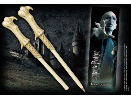 Harry Potter Pen & Bookmark Lord Voldemort Noble Collection