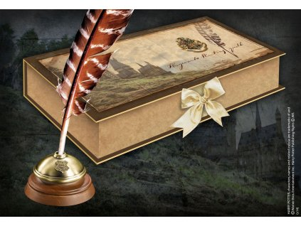 Harry Potter Replica Hogwarts Writing Quill Noble Collection