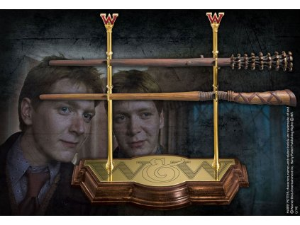 Harry Potter Wand Collection Weasley Twins Noble Collection