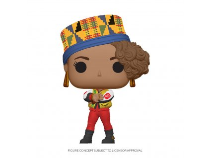 Salt-N-Pepa POP! Rocks Vinyl Figure Pepa 9 cm Funko