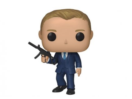 James Bond POP! Movies Vinyl Figure Daniel Craig (Quantum of Solace) 9 cm Funko