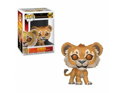 The Lion King (2019) POP! Disney Vinyl Figure Simba 9 cm Funko