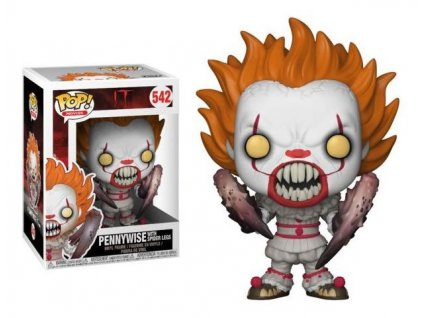 Stephen King's It 2017 POP! Movies Vinyl Figure Pennywise with Spider Legs 9 cm Funko
