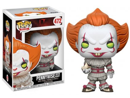 It POP! Movies Vinyl Figure Pennywise (with Boat) 9 cm Funko