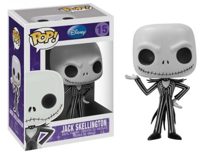 Nightmare Before Christmas POP! Vinyl Figure Jack Skellington 10 cm Funko