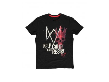 Watch Dogs: Legion T-Shirt Keep Calm And Resist Difuzed