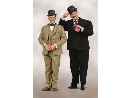 Laurel & Hardy Action Figure 2-Pack 1/6 Classic Suits Limited Edition 30-33 cm BIG Chief Studios