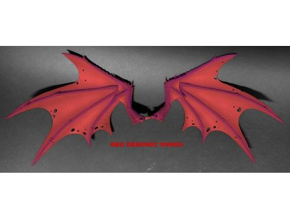 Mythic Legions: Arethyr Action Figure Accessory Red Demonic Wings Four Horsemen Toy Design