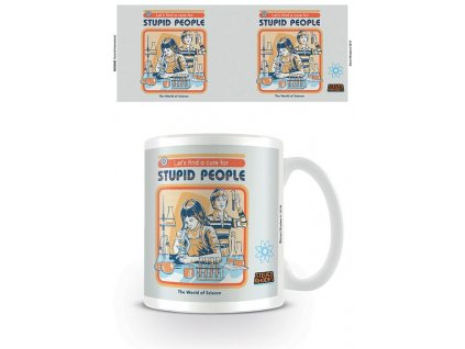 Steven Rhodes Mug Let's Find A Cure For Stupid People Pyramid International